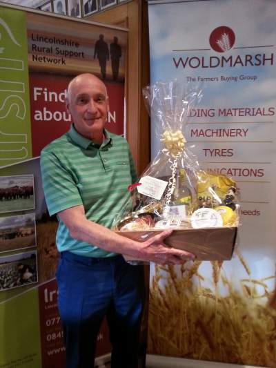 First prize for Team Spaldings Ltd. at the 2015 competition.