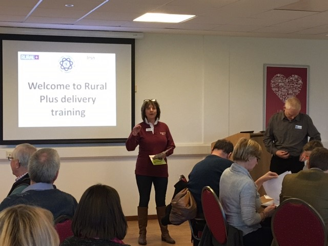 Alison Twiddy, LRSN Project Manager, welcoming the members to the workshop.