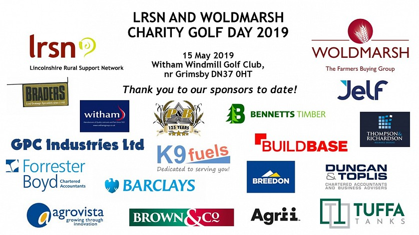 Roll up, roll up - our Charity Golf Day needs you! - LRSN